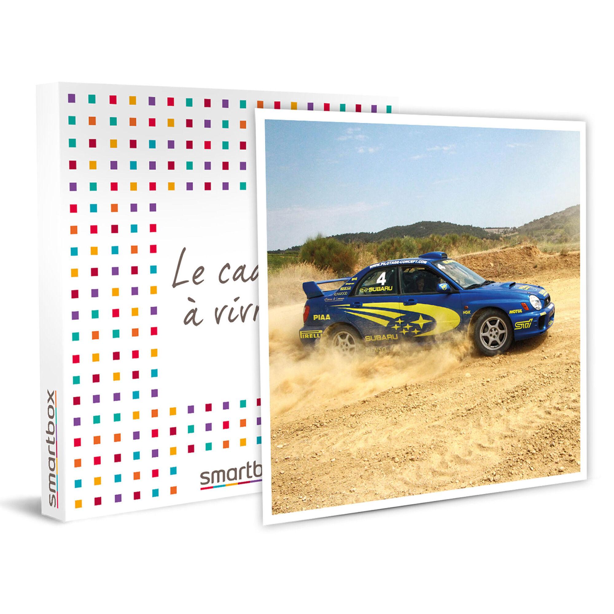 Smartbox Pilotage rallye : 10 tours sur circuit terre au volant de la Subaru Impreza Groupe N 260 cv Coffret cadeau Smartbox