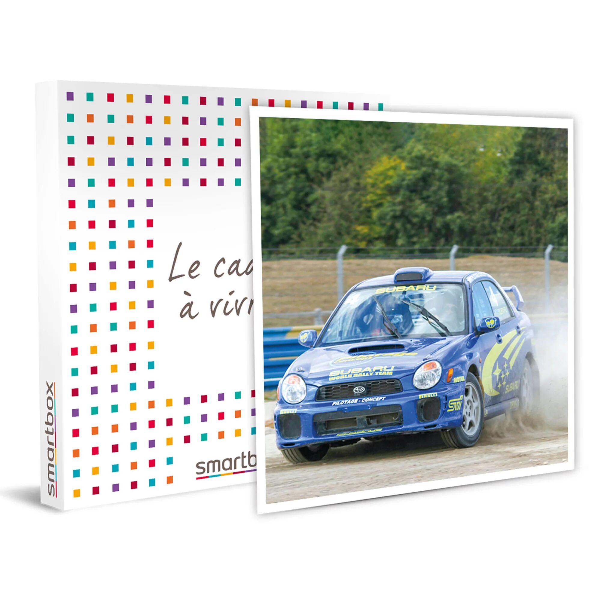 Smartbox Pilotage rallye : 6 tours à bord d'une Mini Cooper Sport et d'une Subaru Impreza WRX Coffret cadeau Smartbox