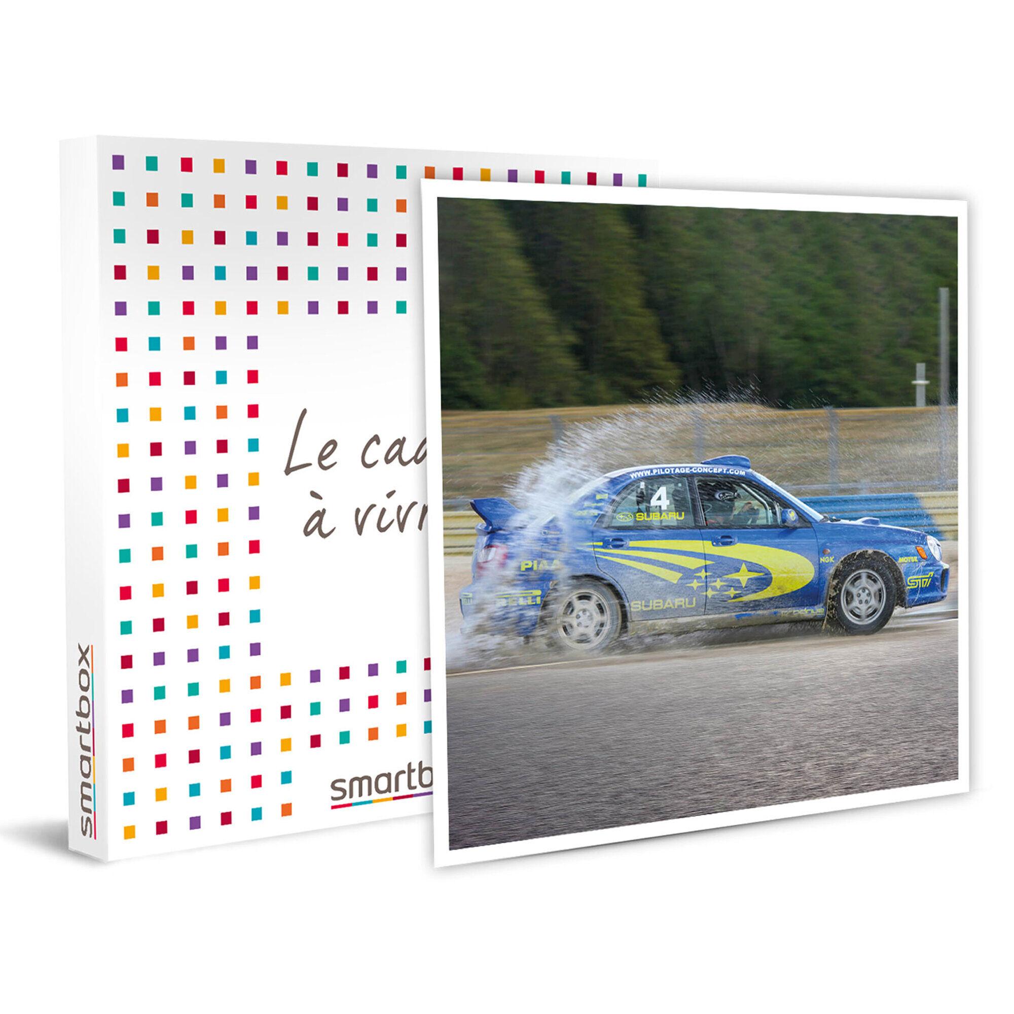 Smartbox Pilotage sur circuit d'une Subaru Groupe N pour 10 tours à haute adrénaline à Dreux Coffret cadeau Smartbox