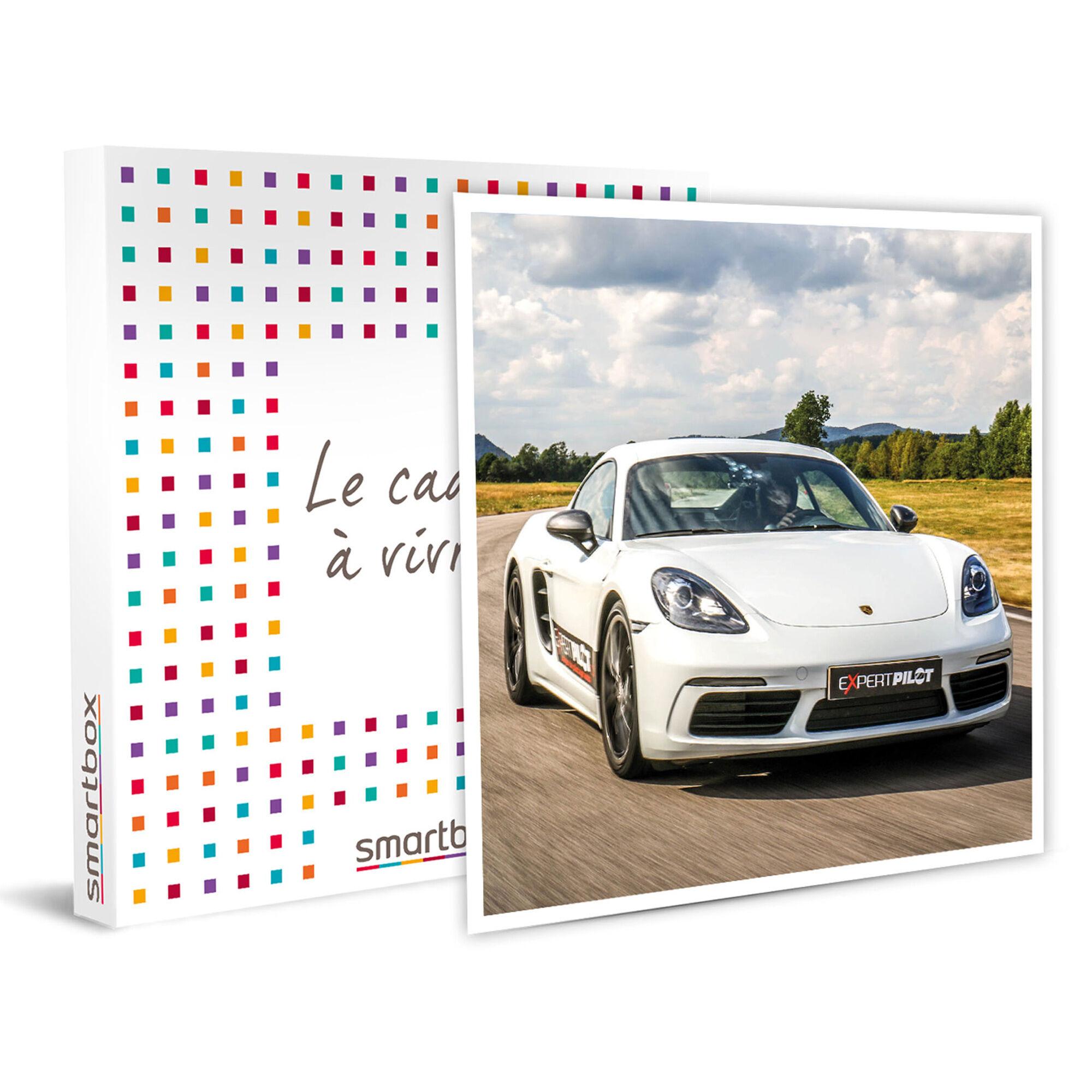 Smartbox Session pilotage de 2 tours de circuit en Porsche Cayman à Dijon Coffret cadeau Smartbox