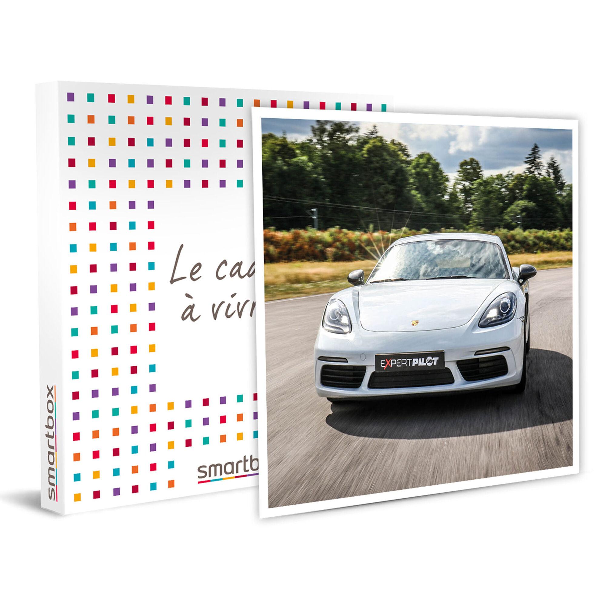 Smartbox 3 tours de pilotage en Porsche Cayman sur le circuit Dijon-Prenois Coffret cadeau Smartbox