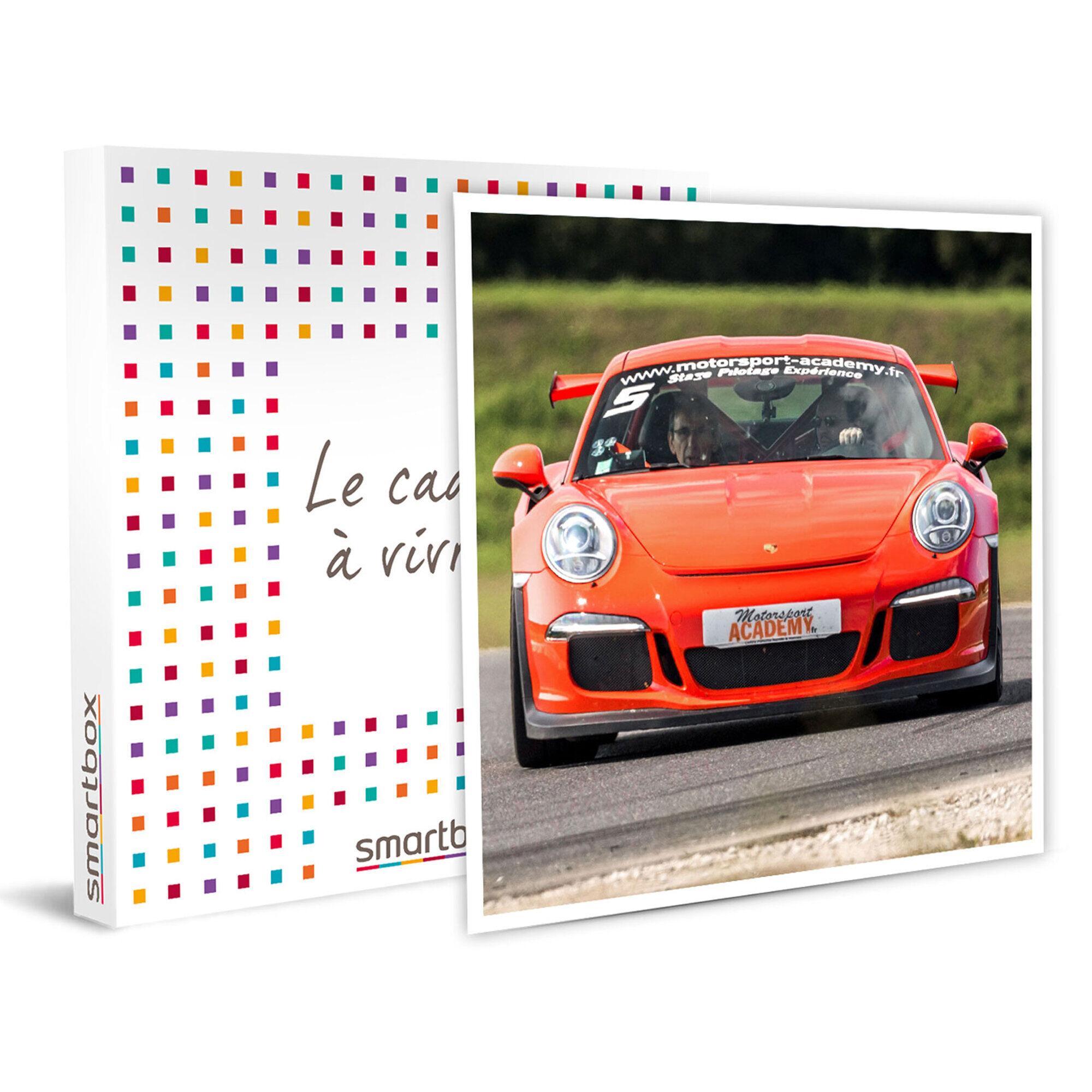 Smartbox Pilotage d'une Porsche Cayman S sur 2 tours de circuit Coffret cadeau Smartbox