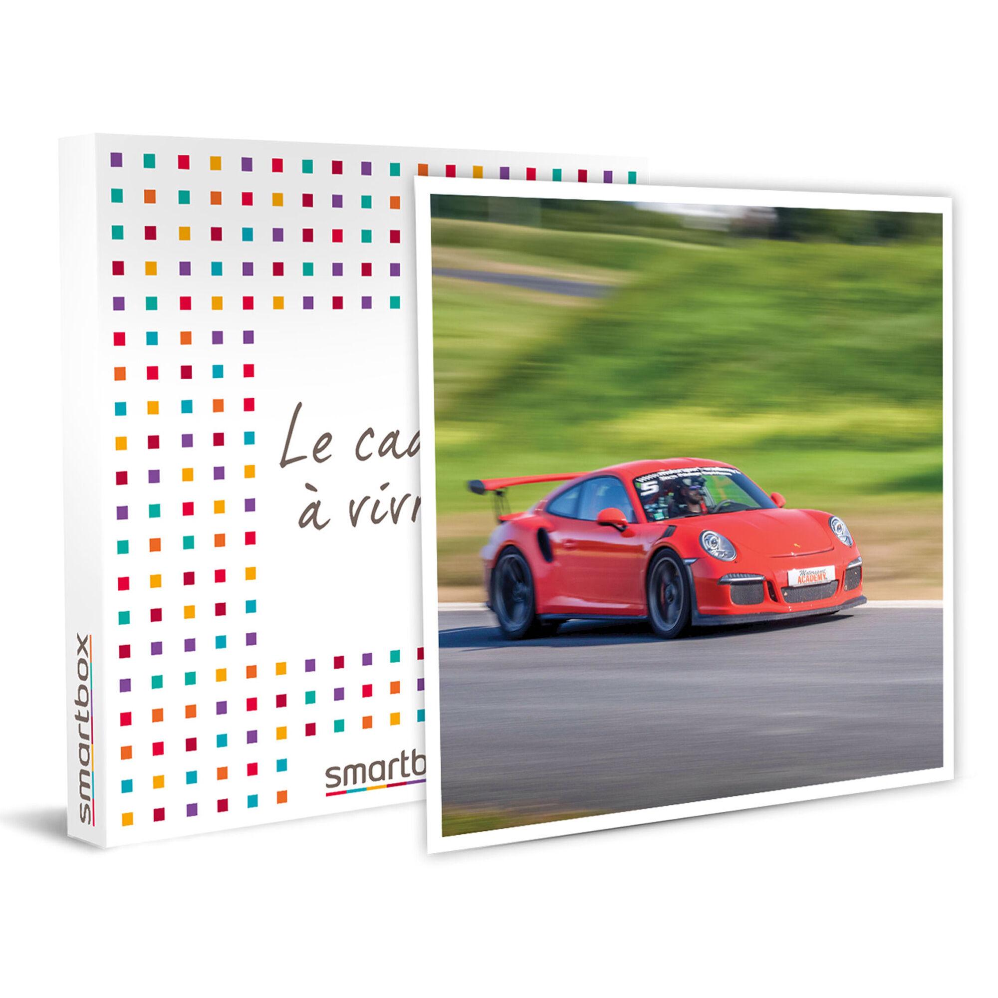 Smartbox Session de 2 tours sur circuit en Porsche GT3 RS Coffret cadeau Smartbox