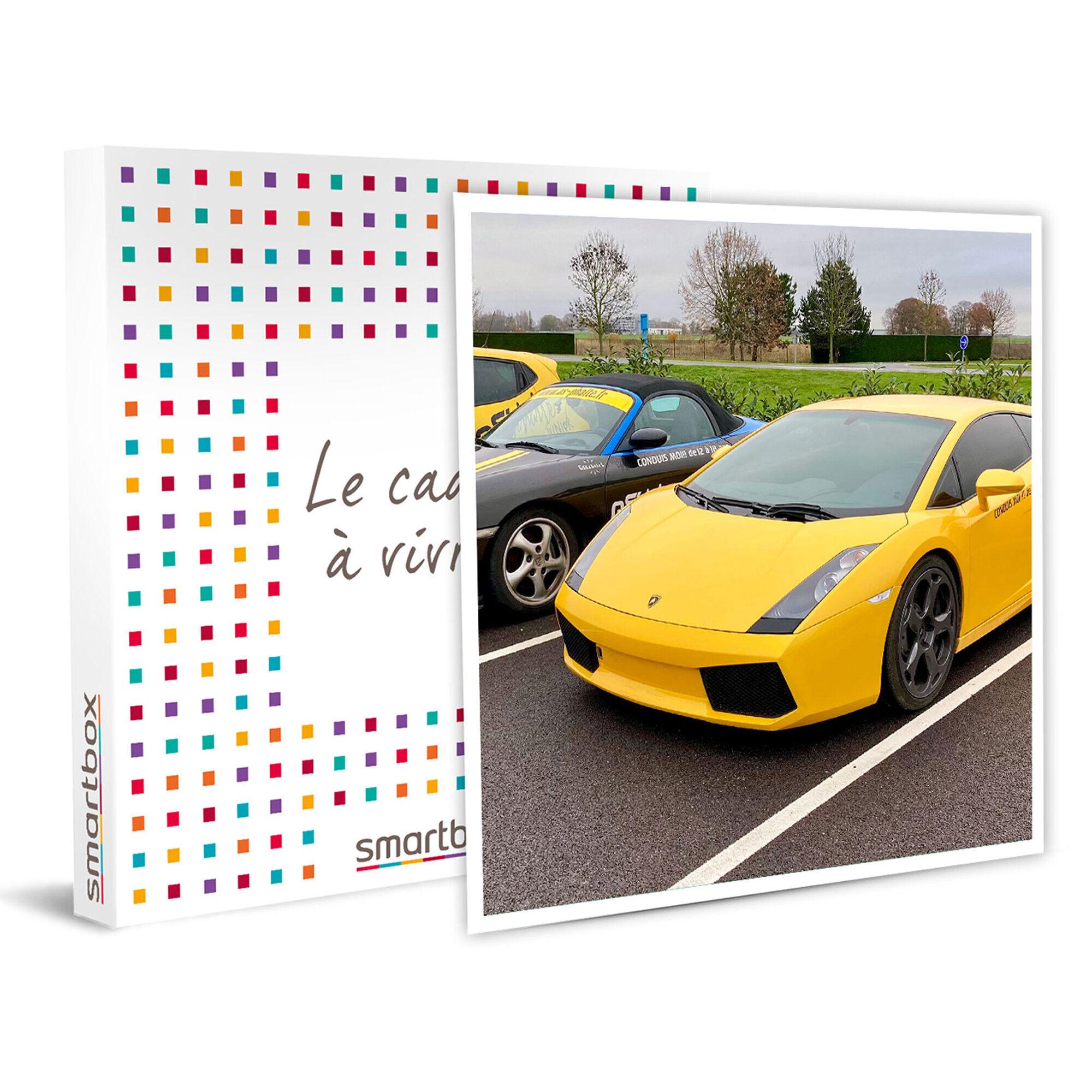 Smartbox Stage de pilotage sur circuit pour enfant au volant d'une Lamborghini Gallardo Coffret cadeau Smartbox