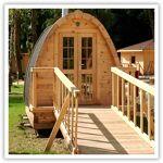 Séjour à 2 dans un igloo de bois au Petit Robinson Coffret cadeau Smartbox... par LeGuide.com Publicité