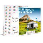 Nuit insolite en Ardèche Coffret cadeau Smartbox L?Ardèche invite les... par LeGuide.com Publicité