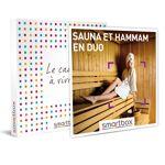 Sauna et hammam en duo Coffret cadeau Smartbox Dans ce coffret, une sélection... par LeGuide.com Publicité