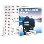 Technique photo en duo Coffret cadeau Smartbox Idéal pour les photographes... par LeGuide.com Publicité