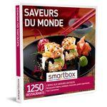 Saveurs du monde Coffret cadeau Smartbox Ce coffret permet à deux aventuriers... par LeGuide.com Publicité