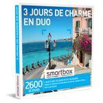 3 jours de charme en duo Coffret cadeau Smartbox S?évader pour deux nuits... par LeGuide.com Publicité