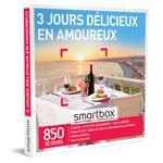 3 jours délicieux en amoureux Coffret cadeau Smartbox Quoi de plus généreux... par LeGuide.com Publicité