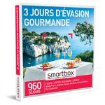3 jours d'évasion gourmande Coffret cadeau Smartbox Quoi de plus... par LeGuide.com Publicité