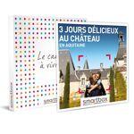 3 jours délicieux au château en Aquitaine Coffret cadeau Smartbox Qui... par LeGuide.com Publicité