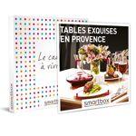 Tables exquises en Provence Coffret cadeau Smartbox Idéal pour les épicuriens,... par LeGuide.com Publicité