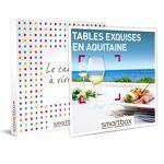 Tables exquises en Aquitaine Coffret cadeau Smartbox Des chefs de talent... par LeGuide.com Publicité