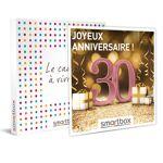 Joyeux anniversaire ! Pour femme 30 ans Coffret cadeau Smartbox La trentaine,... par LeGuide.com Publicité