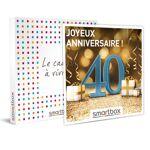 Joyeux anniversaire ! Pour homme 40 ans Coffret cadeau Smartbox Quoi... par LeGuide.com Publicité