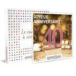 Joyeux anniversaire ! Pour femme 40 ans Coffret cadeau Smartbox L?heureuse... par LeGuide.com Publicité
