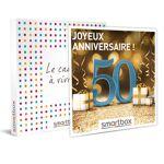 Joyeux anniversaire ! Pour homme 50 ans Coffret cadeau Smartbox L'entrée... par LeGuide.com Publicité