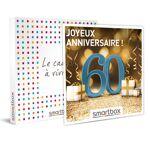Joyeux anniversaire ! Pour homme 60 ans Coffret cadeau Smartbox Voici... par LeGuide.com Publicité