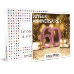 Joyeux anniversaire ! Pour femme 60 ans Coffret cadeau Smartbox Célébrer... par LeGuide.com Publicité