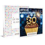 Joyeux anniversaire ! Pour homme 30 ans Coffret cadeau Smartbox Avoir... par LeGuide.com Publicité