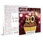 Joyeux anniversaire ! Pour femme 40 ans Coffret cadeau Smartbox Quoi... par LeGuide.com Publicité