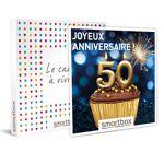 Joyeux anniversaire ! Pour homme 50 ans Coffret cadeau Smartbox Escapades... par LeGuide.com Publicité