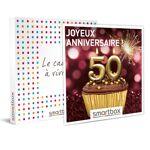 Joyeux anniversaire ! Pour femme 50 ans Coffret cadeau Smartbox Le cap... par LeGuide.com Publicité