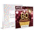 Joyeux anniversaire ! Pour femme 60 ans Coffret cadeau Smartbox Voici... par LeGuide.com Publicité