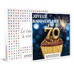 Joyeux anniversaire ! 70 ans Coffret cadeau Smartbox Ce coffret festif... par LeGuide.com Publicité