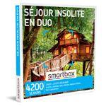 Séjour insolite en duo Coffret cadeau Smartbox Un moment d?évasion qui... par LeGuide.com Publicité