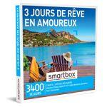 3 jours de rêve en amoureux Coffret cadeau Smartbox Au programme de ce... par LeGuide.com Publicité