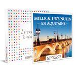 Mille et une nuits en Aquitaine Coffret cadeau Smartbox Quoi de plus... par LeGuide.com Publicité