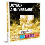 Joyeux anniversaire Coffret cadeau Smartbox Pour fêter dignement un anniversaire,... par LeGuide.com Publicité