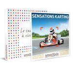 Sensations karting Coffret cadeau Smartbox Les amateurs de sensations... par LeGuide.com Publicité