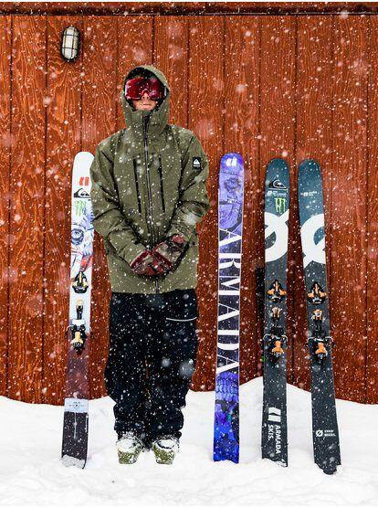 Quiksilver Black Alder 2L GORE-TEX - Veste de snow pour Homme - Marron - Quiksilver