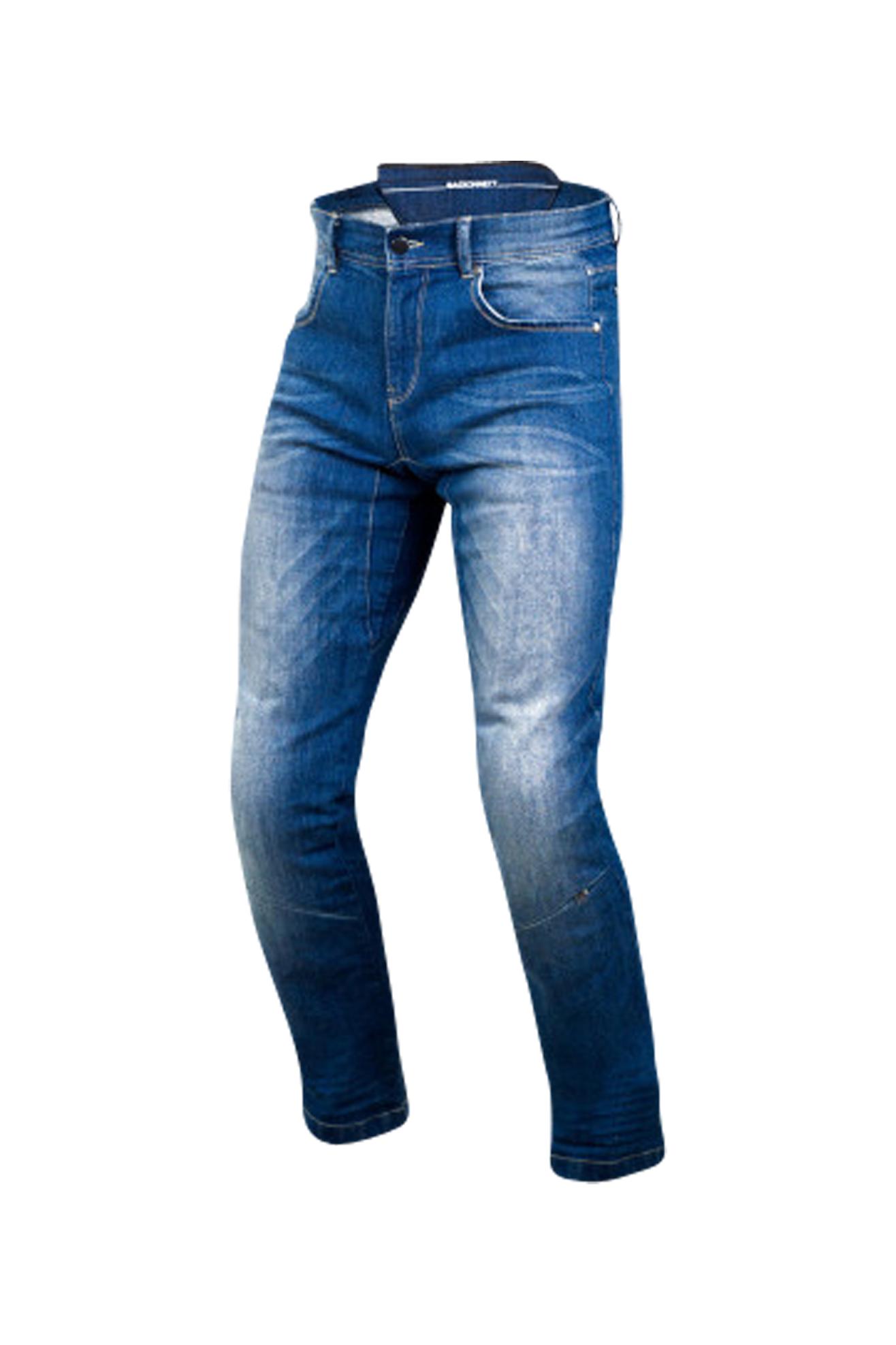 Macna Jean Moto Macna Boxer Covec Bleu