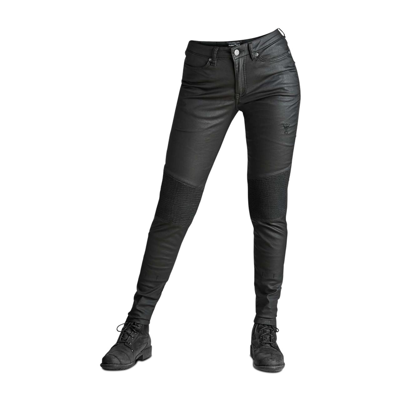 Pando Moto Jean Moto Femme Pando Moto Kusari Kev 02 Noir