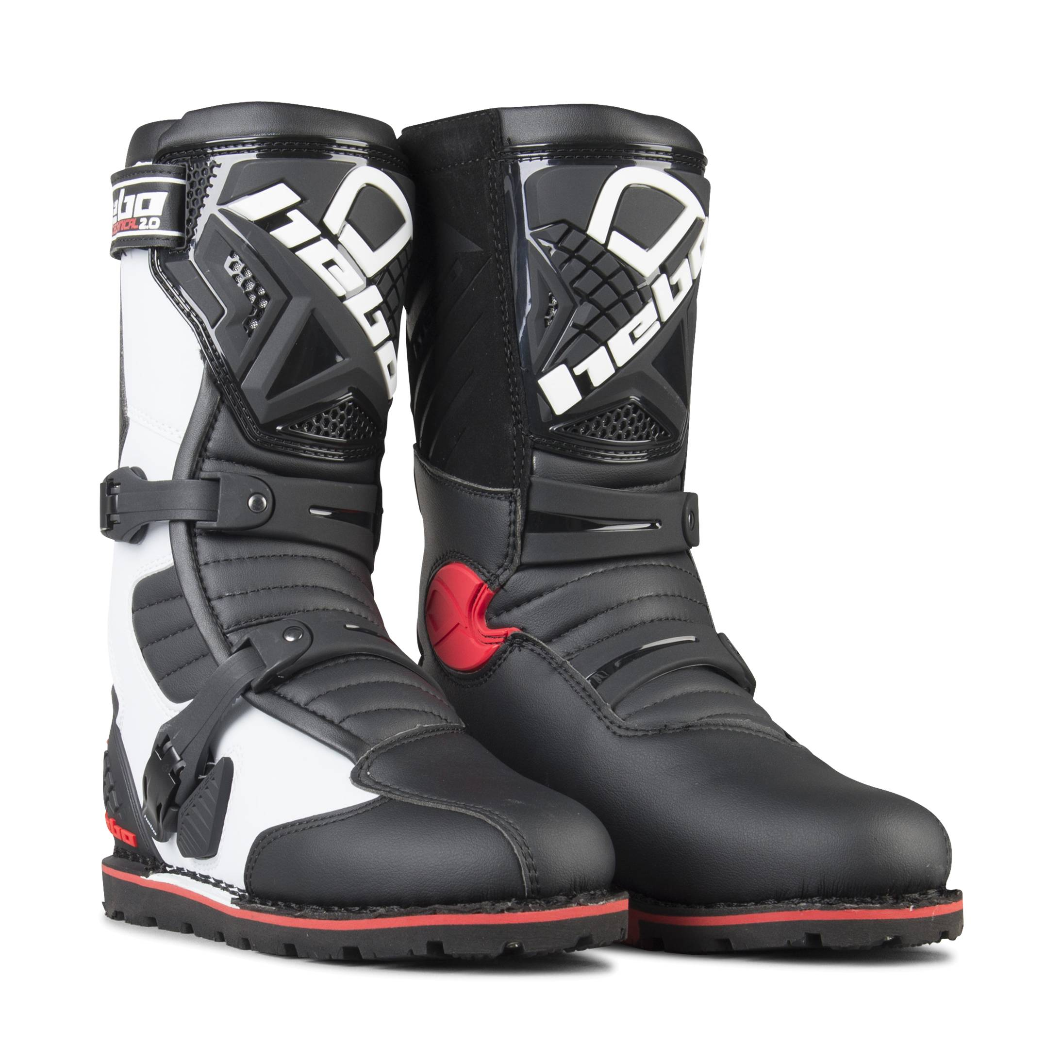Hebo Bottes Trial Hebo Technical 2.0 Micro Blanches