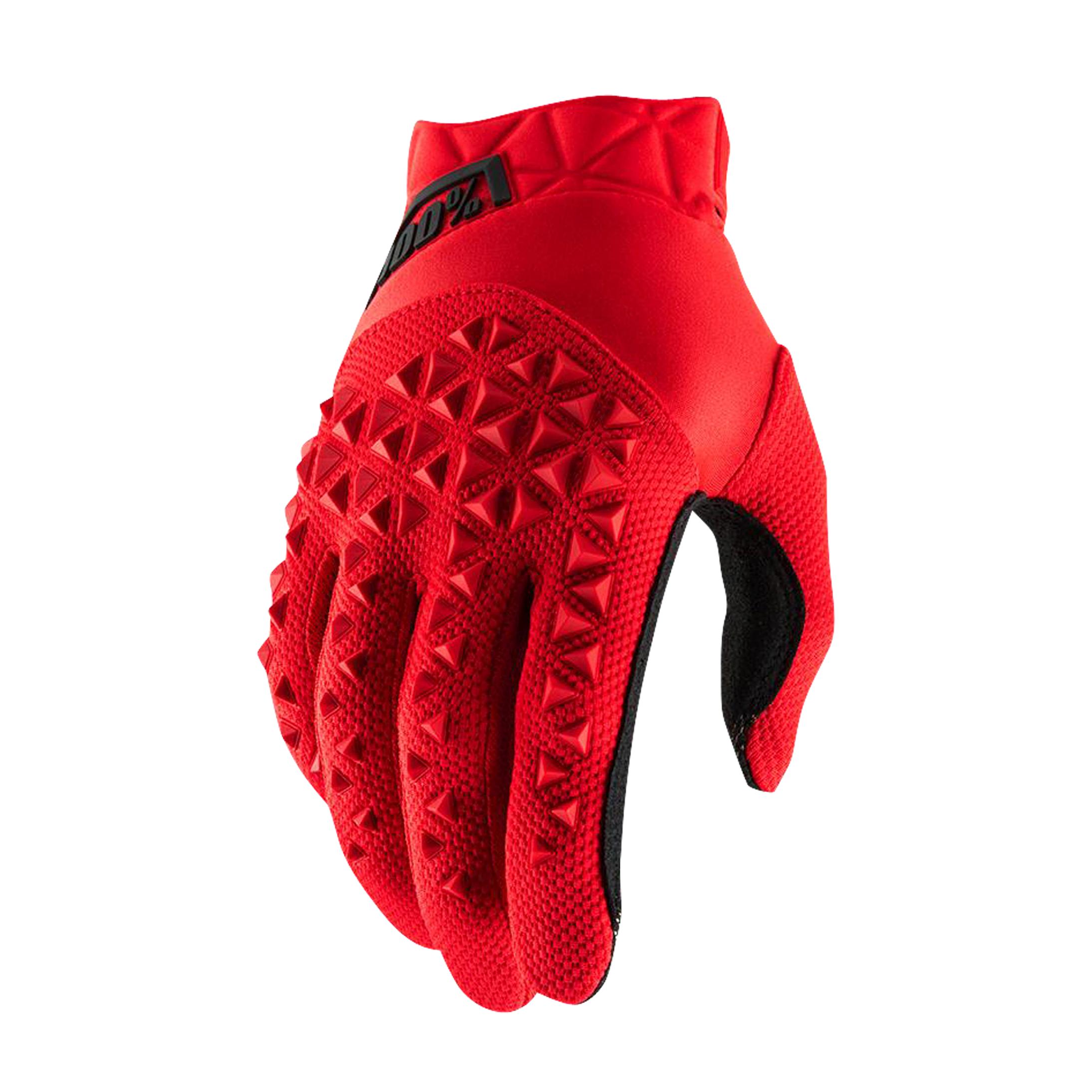 100% Gants Cross 100% Airmatic Rouge-Noir