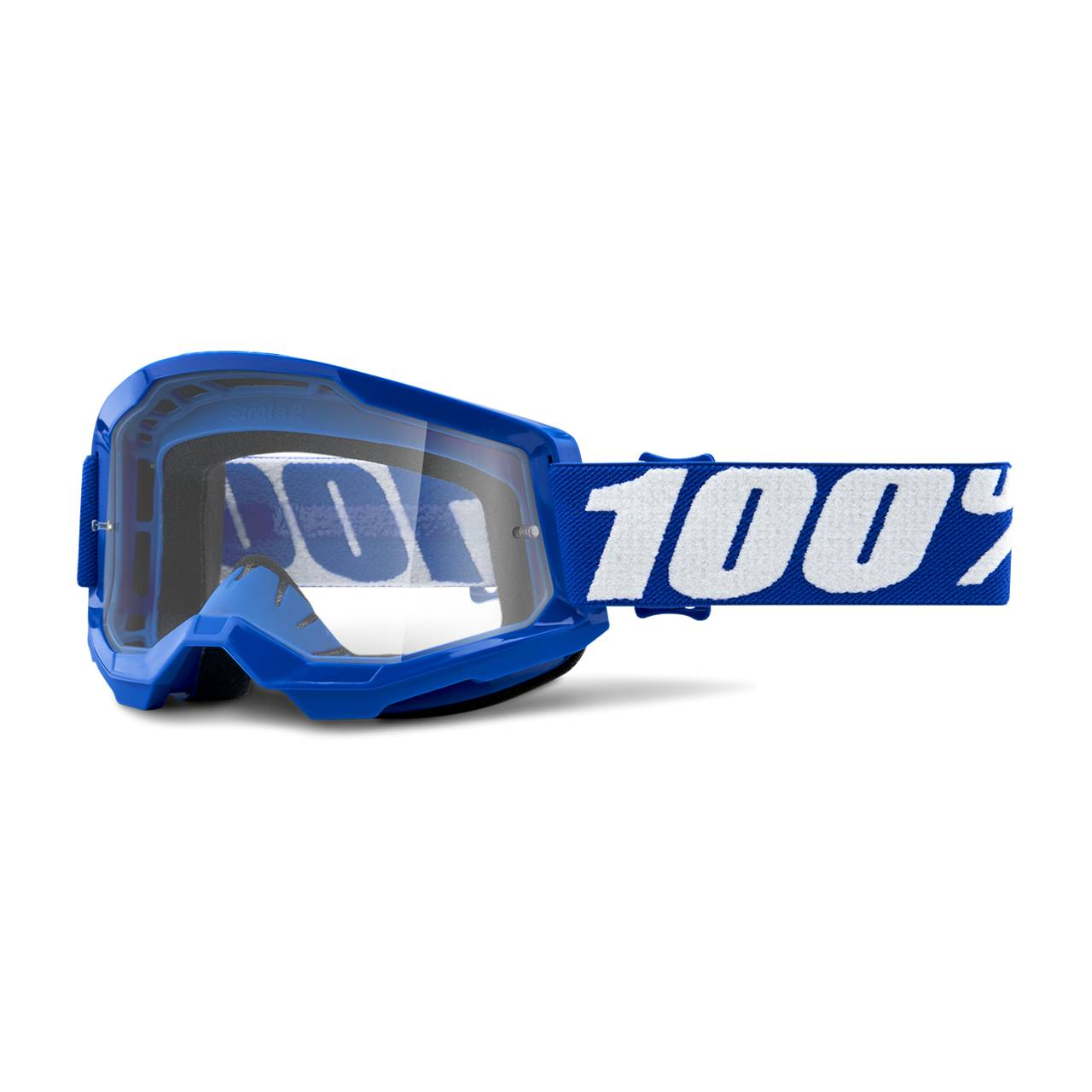 100% Masque Cross 100% Strata 2 Bleu