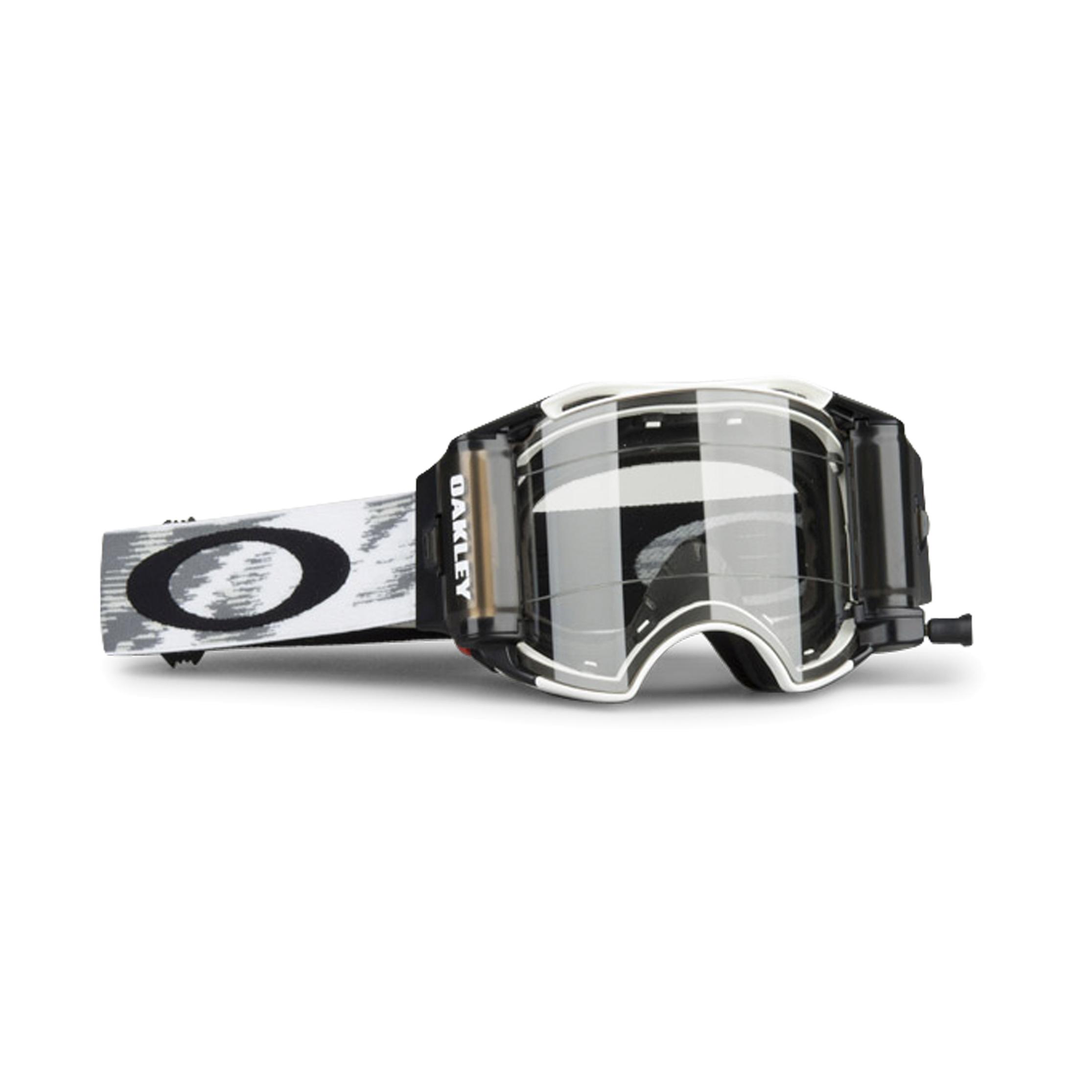 Oakley Masque cross Oakley Airbrake Speed Roll-Off Blanc Mat