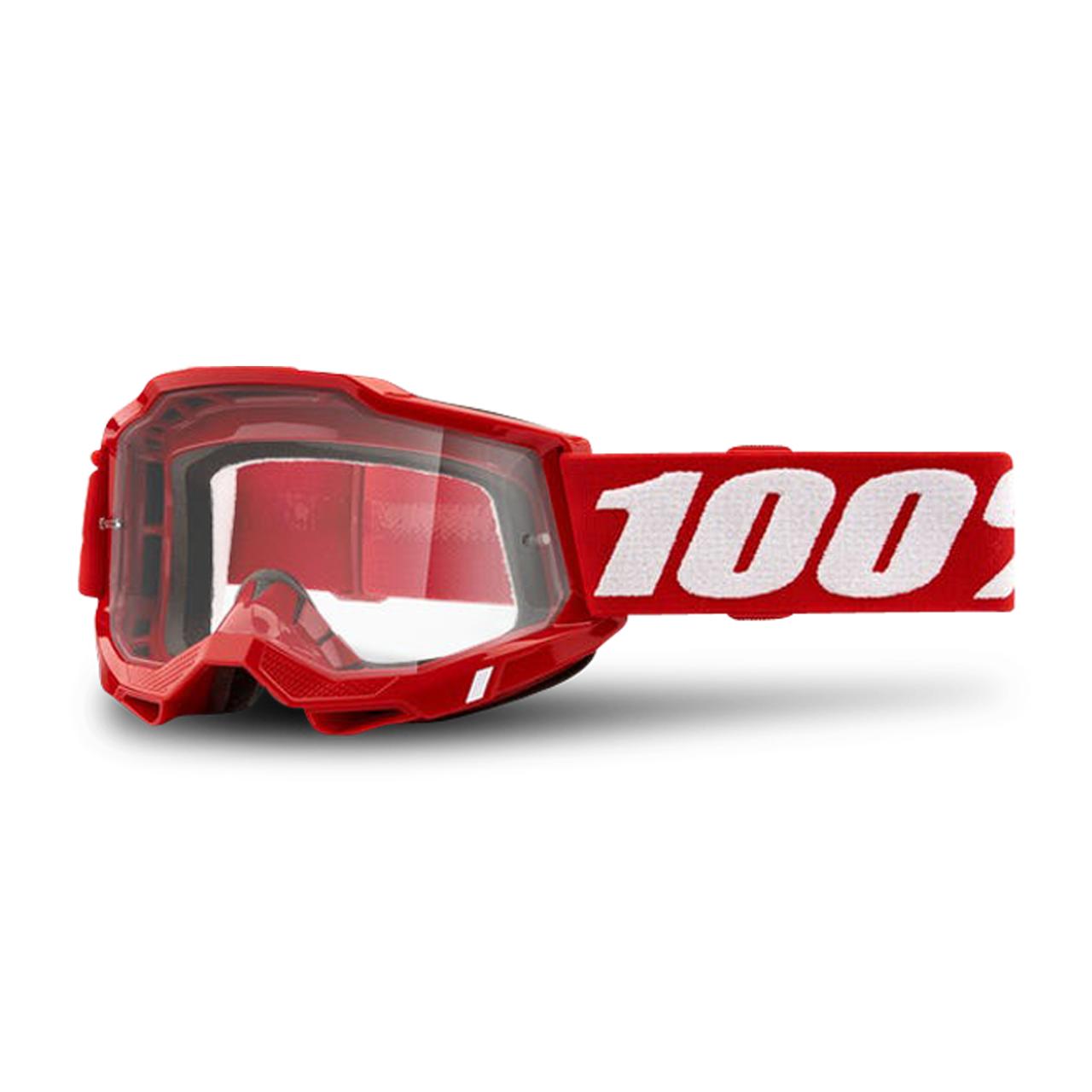 100% Masque Cross 100% Strata 2 Rouge