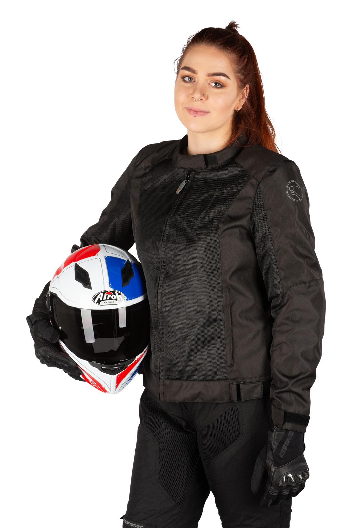 Bering Veste Moto Femme Bering Riko Queen Noire 46 (2XL)