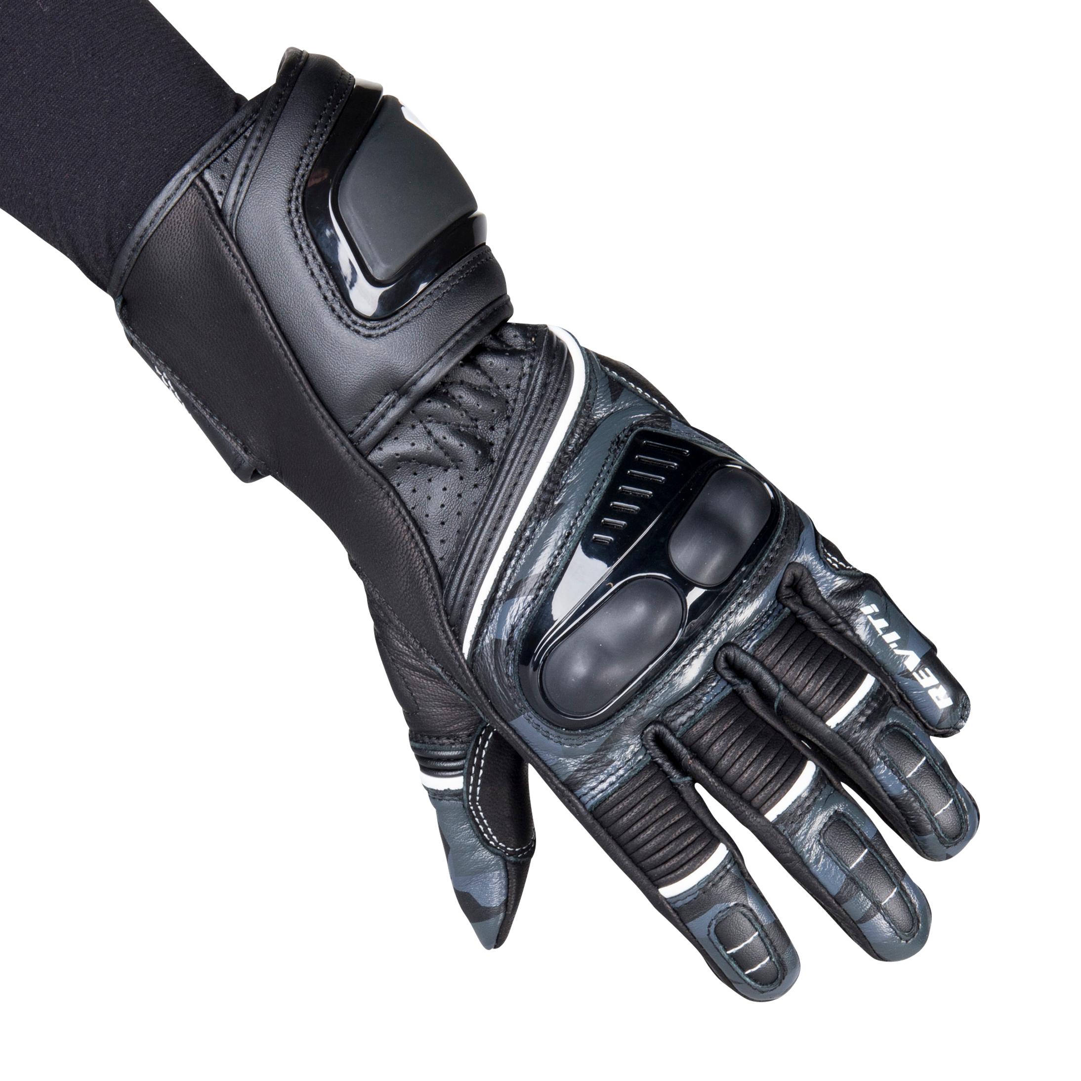 REVIT! Gants Moto Femme Rev'it Xena 3 Noir-Gris XL (8)