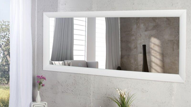 gdegdesign Grand miroir design rectangulaire laqué blanc - Clyde