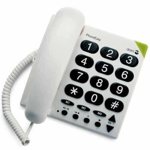 Téléphone à grosses touches PhoneEasy Doro 311C