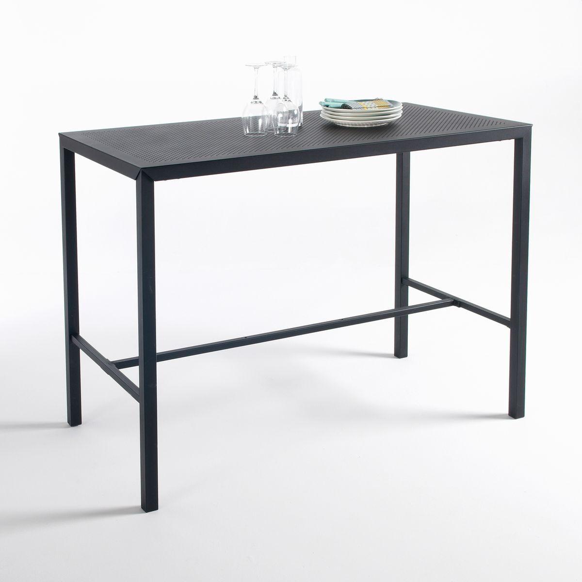 La Redoute Table haute mange-debout métal perforé, Choe - LA REDOUTE INTERIEURS