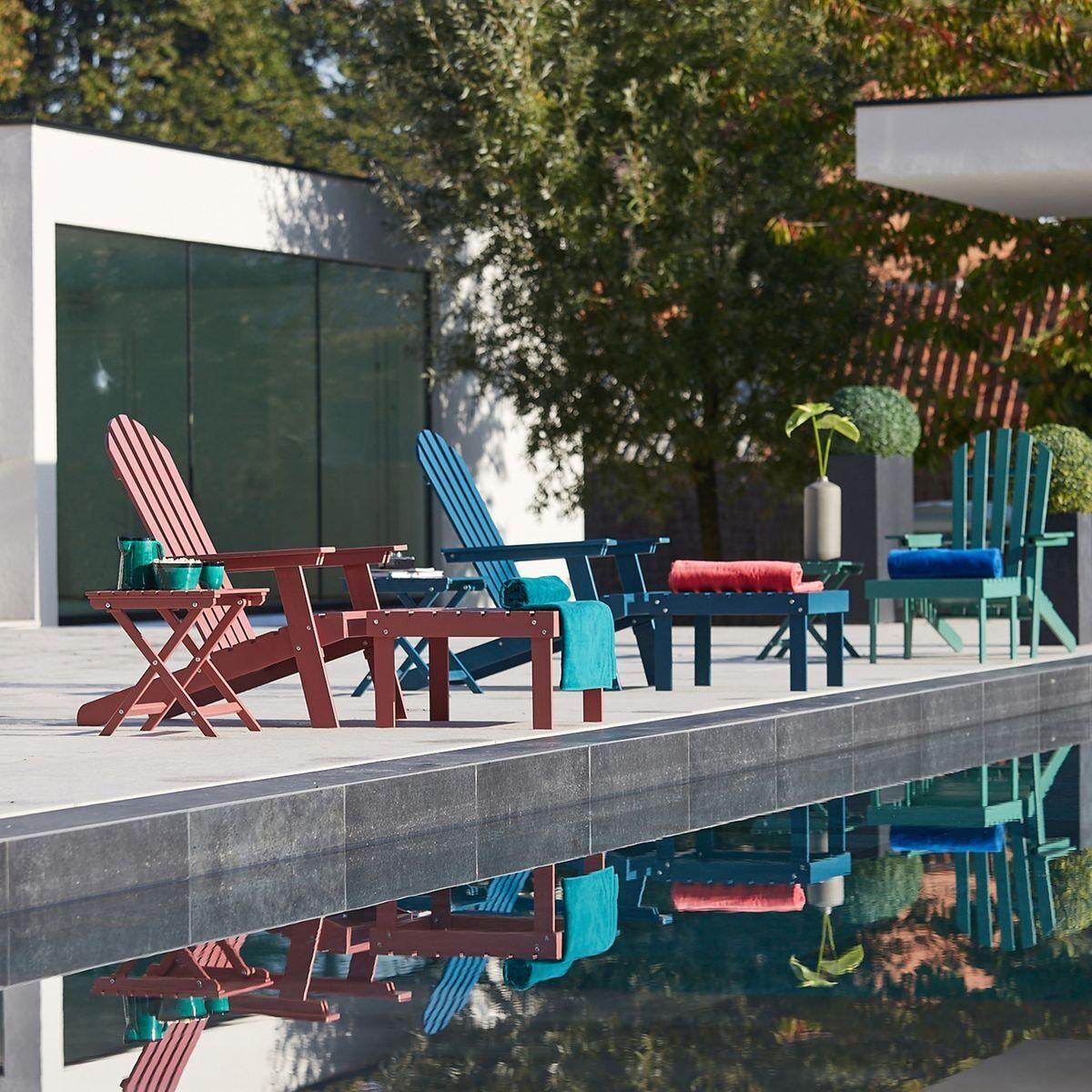 La Redoute Table basse pliante Zeda en acacia - LA REDOUTE INTERIEURS